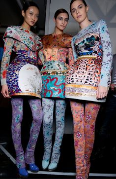 Backstage: AW11 | Mary Katrantzou at the MET Museum | China: Through The Looking Glass