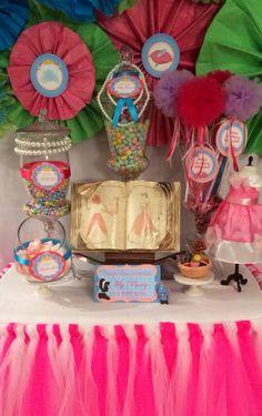 Cinderella candy bar/favor station....