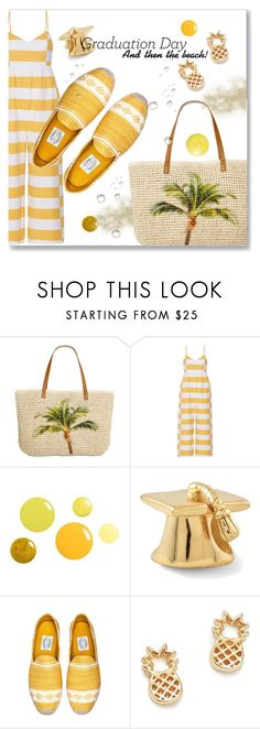 """""""Graduation Day ... and then the beach"""" by interesting-times ❤ liked on Polyvore featuring Style & Co., Mara Hoffman, Bing Bang and Graduation"""