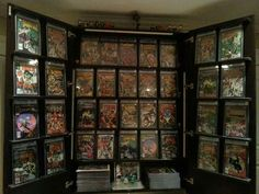 comic book collection storage ideas