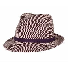 Anthony Peto Gervaise Purple Panama Hat ( 225) ❤ liked on Polyvore a0a10c8051e1