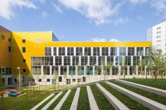 The New Clignancourt Centre in Paris by gpaa