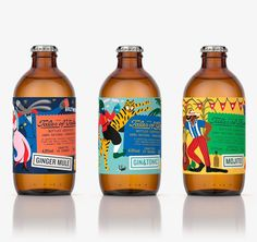 Image may contain: drink Rice Packaging, Beverage Packaging, Bottle Packaging, Brand Packaging, Product Packaging, Kombucha Bottles, Beer Label Design, Web Design, Graphic Design
