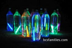 Glow in the Dark Bowling {Kids}