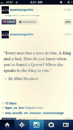 Dr Mike Murdock Mike Murdock, Dr Mike, Every Man, Queen, Wisdom Quotes, The Fool, Positive Vibes, Did You Know, I Can