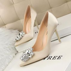Sexy High Heels, Wedding High Heels, High Heels Boots, Bridal Wedding Shoes, High Heel Pumps, Women's Pumps, Stilettos, Glamour, Pointed Toe Pumps