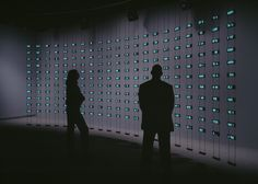 V&A museum in London showcases latest developments in digital and interactive design. The exhibition explores three themes: Code, interactivity and network