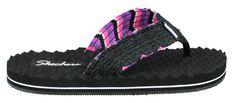 Skechers Works Surfer Babe Thong Sandal Womens Flip Flops Shoes Flat Heel #SKECHERS #FlipFlops