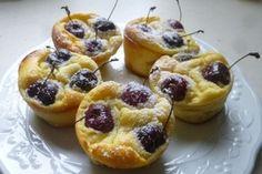 petits gâteaux ricotta/cerises