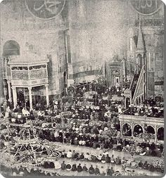 1910 Ayasofya Camii olarak ibadete açık olduğu yıllar