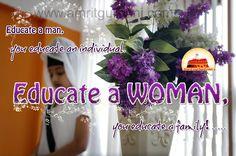 Educate a Woman