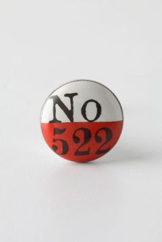 Lucky Number Knob, Red    http://www.anthropologie.eu/en/uk/knobs/lucky-number-knob-red/invt/7574600490531b/=Red