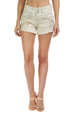 Shorts Jeans Bordado Jardim Sunset Morena Rosa