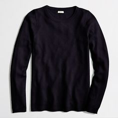For capsule wardrobe J.Crew+Factory+-+Factory+cashmere+long-sleeve+T-shirt