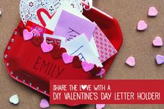 Valentine's Day Card Holders: DIY Instructions