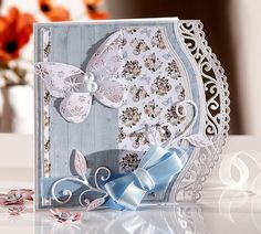 A #tutorial with the Sara Signature English Country Garden Collection from #crafters companion