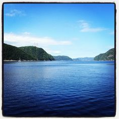 Saguenay Fjord     Quebec  Canada