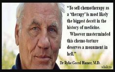 """""""To sell chemotherapy as a 'therapy' is most likely the biggest deceit in the history of medicine. Whoever masterminded this chemo-torture deserves a monument in hell. The Big C, Disaster Movie, Heath Care, Spiritual Prayers, American Medical Association, Cancer Cure, Medical Prescription, Deceit, Health Articles"""