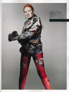 Why Vivienne Westwood Doesn't Read Fashion Magazines