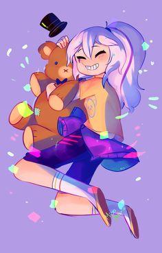 Por que mai abraza a freddy en oso