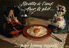 La carte postale gastronomique | #Vacances | #recette | #cartePostale | #kitsh |