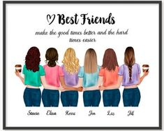 Best Friends Cartoon, 5 Best Friends, Friend Cartoon, Girl Cartoon, Girls Best Friend, Friends In Love, Bff Pictures, Best Friend Pictures, Pictures To Draw