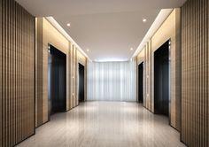 wood elevator corridor - Google Search