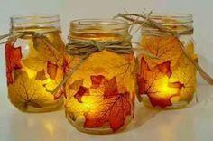 veladoras para el otoño