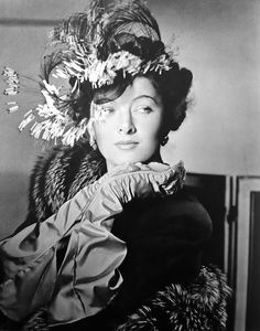 Myrna Loy, photographed by Horst P. Horst in the November 15, 1942 Vogue.