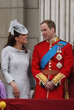 The Duke & Duchess of Cambridge attend the Trooping of the Colour