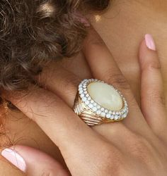 EMELIA RING... New arrival online at www.fabfrosting.com. Get yours today! Gold only.  #putaringonit