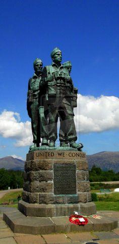 Commando Memorial Spean Bridge Scotland.