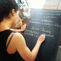 #essen ist fertig #lilasfood #oberwart Chalkboard Quotes, Art Quotes, Instagram Posts, Food, Lilac, Essen, Meals, Yemek, Eten