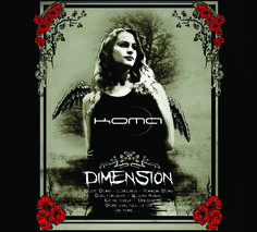KOMA - Dimension  front cover komaband.bandcamp.com/album/dimension