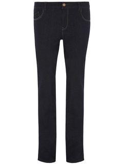 Tall Indigo Straight Leg Jeans