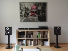 Naim | Nad | Dali Vinyl Record Display, Sound Room, Vinyl Storage, Home Speakers, Audio Room, Hifi Audio, Home Cinemas, Audiophile, Small Rooms