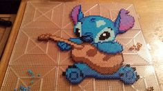 Stitch perler beads by Crank Up Creations