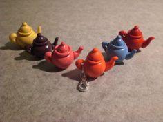 fimo teapot charms