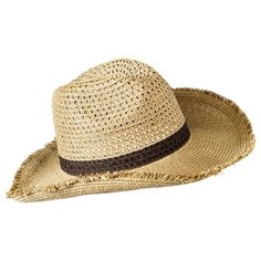 0b9333d8d0d Mossimo Supply Co. Cowboy Hat With Band - Natural Mossimo Supply Co