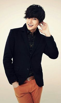 "One of Kuro's other celeb crush. This handsome man is a Korean actor named Lee Min Ho whom Kuro fell in love with on sight when she watched ""Boys Over Flowers."""