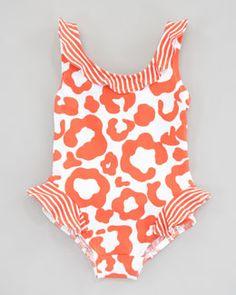 Z0WEN Florence Eiseman Show Your Spots Swimsuit, 12-24 Months