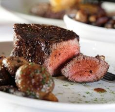 Tuesdays are for dinner at Fleming's. We'll take this filet, please! #GrandBoulevard #GrandBlvdFL