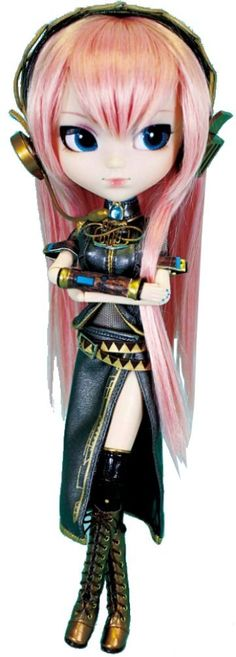 "Amazon.com: Pullip Dolls Vocaloid Luka Megurine Doll, 12"": Toys & Games"