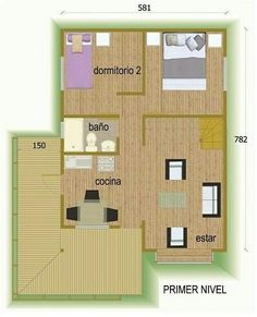 Casa em madeira 2 plano