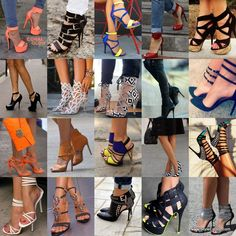 20 Trendy Shoe Styles On The Street For 2014 ~ Be sure to follow my     board If The Shoe Fits for all of the latest updates.