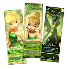 tinkerbell party ideas - turn your invitation into a fun puzzle, Party invitations