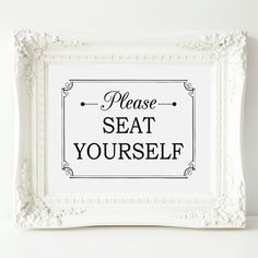 Hey, I found this really awesome Etsy listing at https://www.etsy.com/listing/246594632/please-seat-yourself-bathroom-wall-art-8