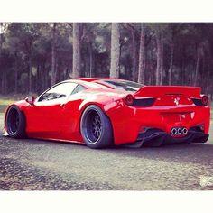 Stanced Ferrari