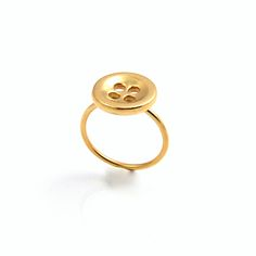 Button Ring | Theodora Gould