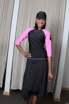 Feel confident, comfortable and stylish in modest swimwear by HydroChic